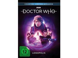 Doctor Who Vierter Doktor Logopolis LTD Limitiertes Mediabook 3 BRs