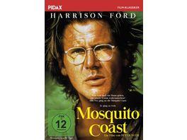Mosquito Coast Preisgekroente Romanverfilmung mit Harrison Ford Helen Mirren und River Phoenix Pidax Film Klassiker