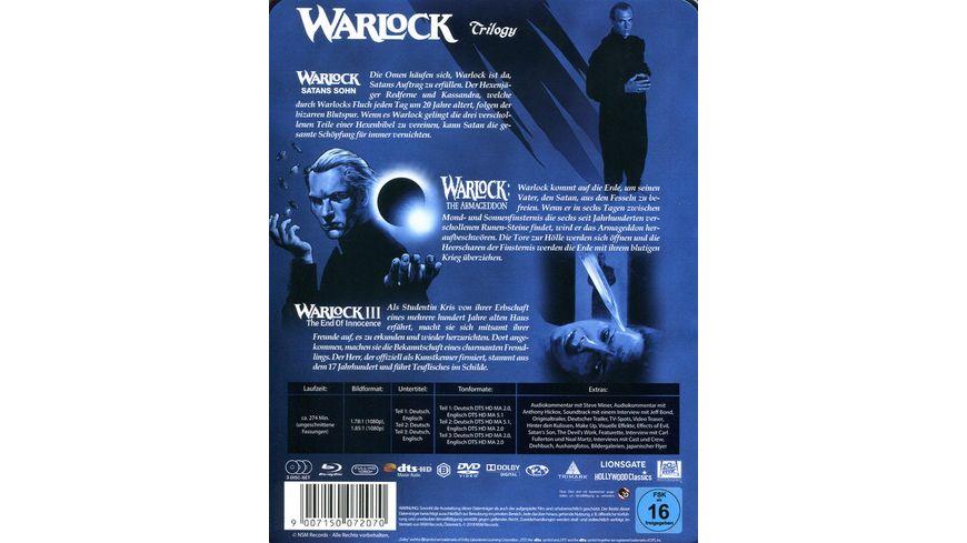 Warlock Trilogy Limitierte Steelbook Edition Uncut 3 BRs