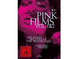 Pink Films Vol 1 2 Inflatable Sex Doll of the Wastelands Gushing Prayer Special Edition DVD