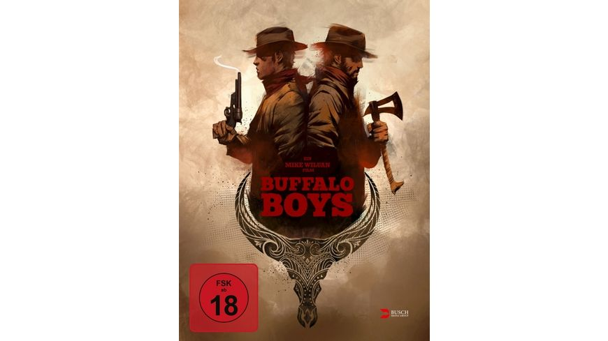 Buffalo Boys uncut Limited Collector s Edition Mediabook Blu ray DVD