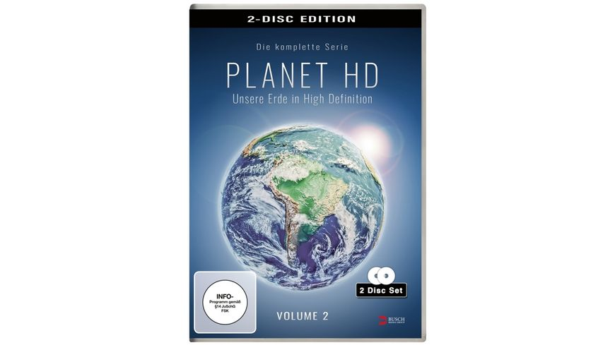 Planet HD Unsere Erde in High Definition Vol 2 2 DVDs
