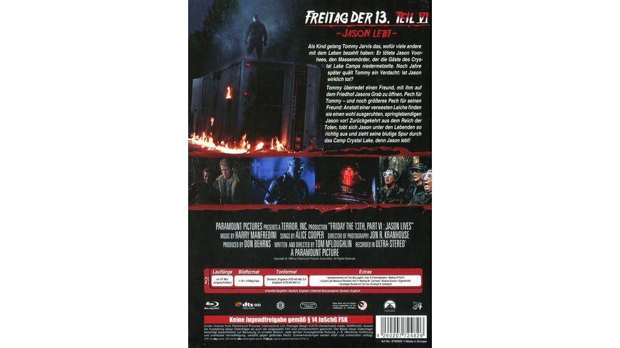 Freitag der 13 Teil 6 Collectors Edition Mediabook Cover C