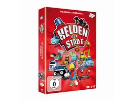 Helden der Stadt Die Komplette 2 Staffel 6 DVDs