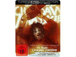 The Texas Chainsaw Massacre Limited Steelbook Edition 4K Ultra HD 2 Blu Rays