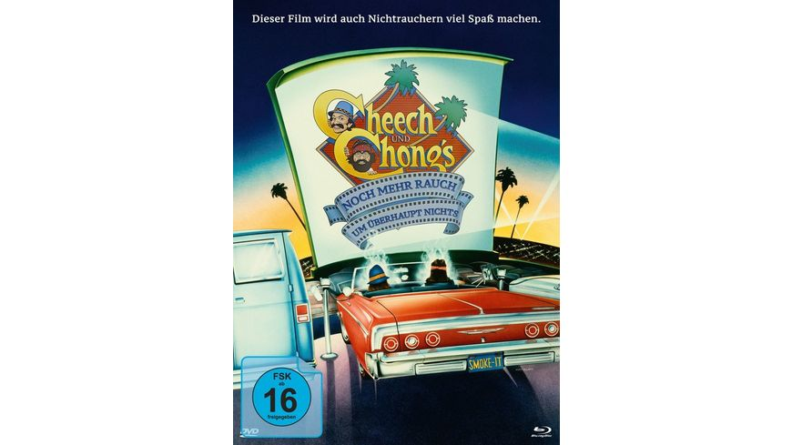 Cheech Chong Noch mehr Rauch um ueberhaupt nichts Jetzt hats sich ausgeraucht Mediabook DVD