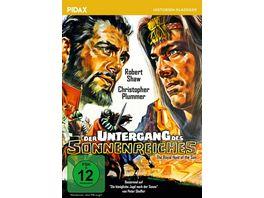 Der Untergang des Sonnenreiches The Royal Hunt of the Sun Abenteuerfilm um die Eroberung des Inkareiches mit Starbesetzung Pidax Historien Klassiker
