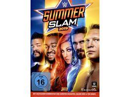 WWE SUMMERSLAM 2019 2 DVDs
