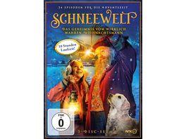Schneewelt Das Geheimnis vom wirklich wahren Weihnachtsmann 3 DVDs