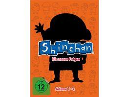 SHIN CHAN Die neuen Folgen Vol 1 4 im Sammelschuber 4 DVDs