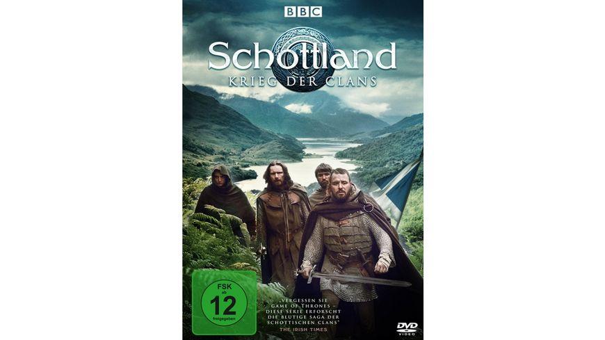 Schottland Krieg der Clans