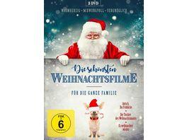 Die schoensten Weihnachtsfilme fuer die ganze Familie 3 DVDs