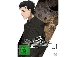 Steins Gate 0 Vol 1 2 DVDs