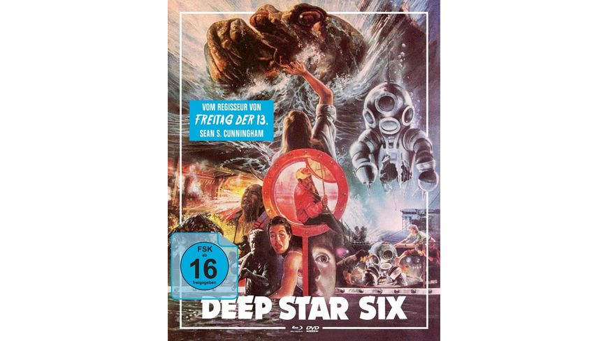 Deep Star Six Mediabook B Blu ray DVD
