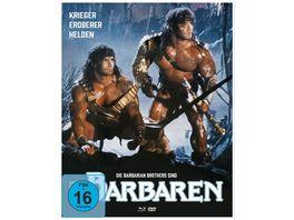 Die Barbaren Mediabook B 1 Blu ray 1 DVD 1 Bonus DVD
