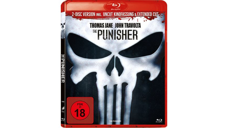 The Punisher 2 Disc Set inkl Uncut Kinofassung Extended Cut
