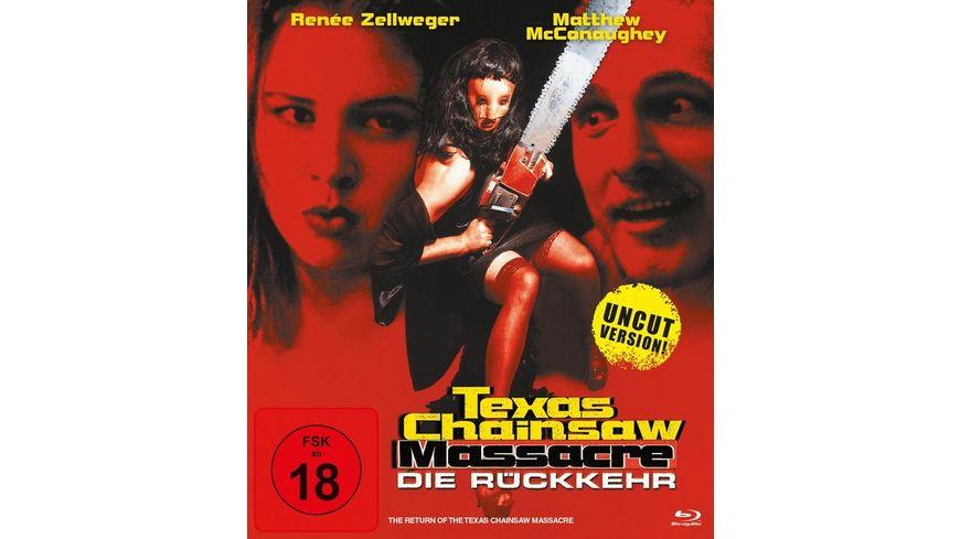 Texas Chainsaw Massacre Die Rueckkehr inkl Uncut Version Langfassung