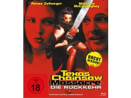 Texas Chainsaw Massacre Die Rueckkehr inkl Uncut Version Langfassung