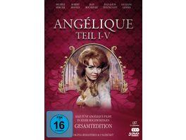 Angelique I V Gesamtedition Alle 5 Filme Digital remastered Filmjuwelen 3 DVDs