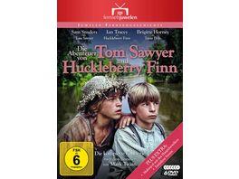 Die Abenteuer von Tom Sawyer und Huckleberry Finn Die komplette Serie Fernsehjuwelen 6 DVDs