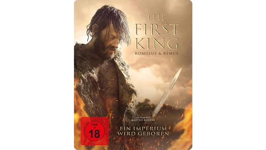 The First King Romulus Remus SteelBook