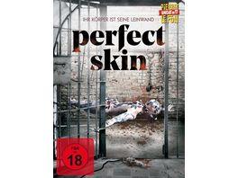 Perfect Skin Ihr Koerper ist seine Leinwand uncut Limited Edition Mediabook DVD