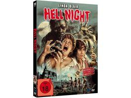 Hell Night Uncut limited Mediabook Edition Blu ray DVD plus Booklet HD neu abgetastet