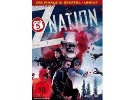Z Nation Staffel 5 UNCUT Edition 4 DVDs