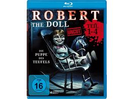 Robert the Doll 1 4 Deluxe Box Edition uncut 4 BRs