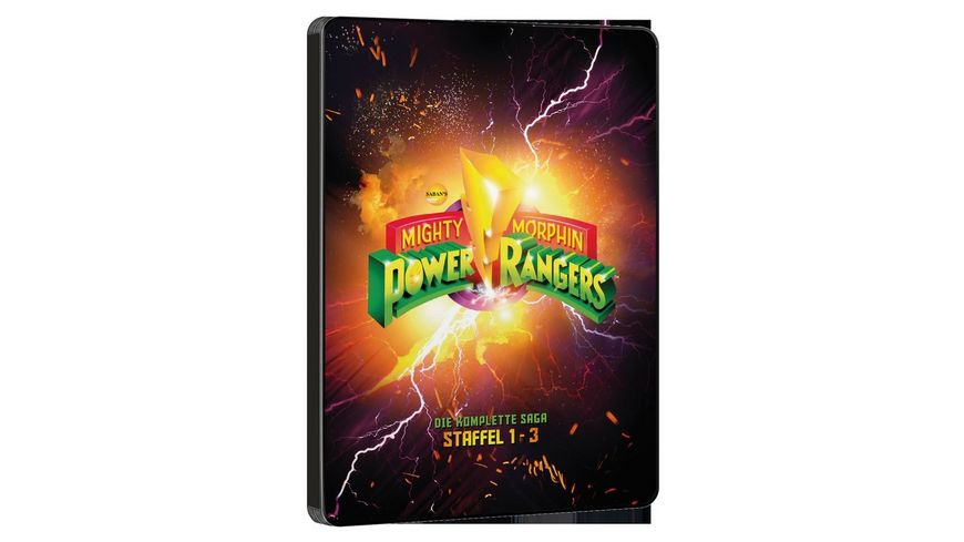 Power Rangers Mighty Morphin Season 1 3 SD on Blu ray