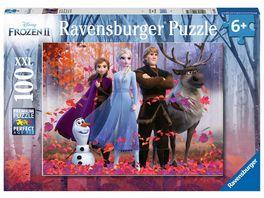 Ravensburger Puzzle Frozen Magie des Waldes 100 XXL Teile