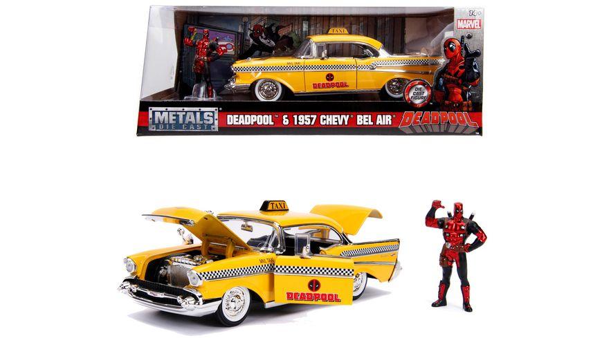 Jada Marvel Deadpool 1957 Chevy Bel Air