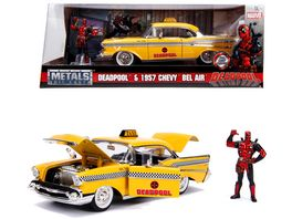 Jada Marvel Deadpool 1957 Chevy Bel Air