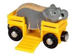 BRIO Bahn Tierwaggon Elefant