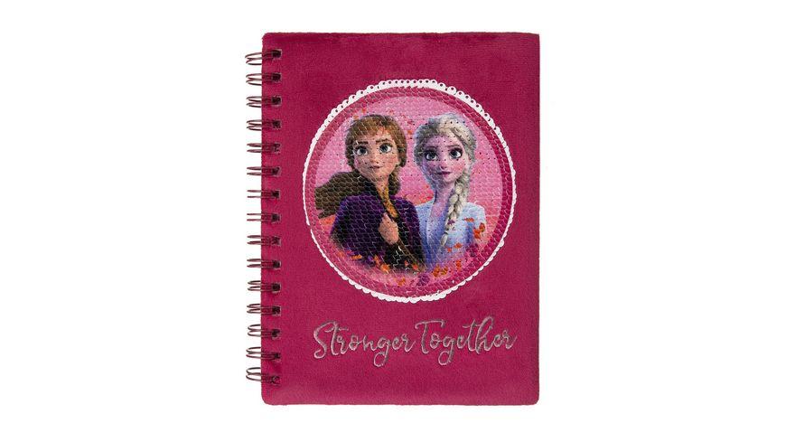 Undercover Frozen II Spiralnotizbuch A5