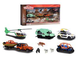 Majorette Big Explorer Theme Set