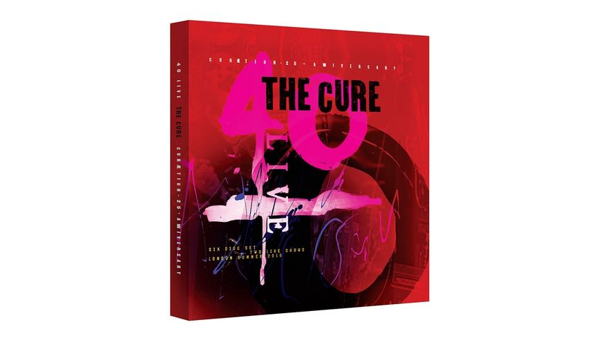 CURAETION 25 ANNIVERSARY LTD 2DVD 4CD BOX