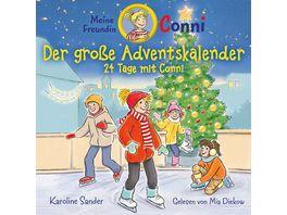 Karoline Sander Conni Der Grosse Adventskalender