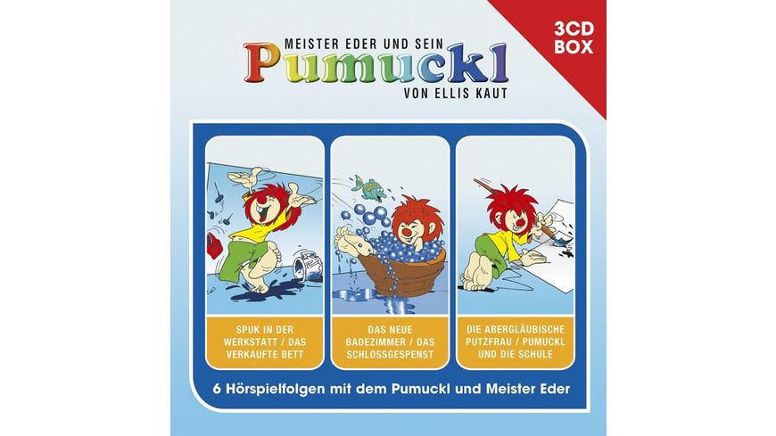 Pumuckl-3-CD Hörspielbox Vol.1
