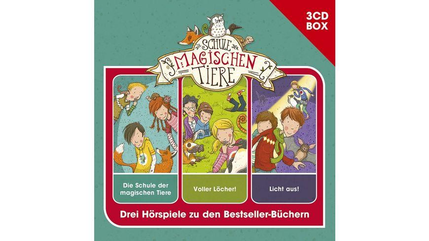 Schule Der Magischen Tiere-3-CD Hspbox Vol.1