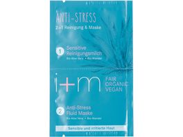 i m Anti Stress 2in1 Reinigung Maske