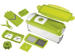 GENIUS Nicer Dicer Plus Set 10teilig gruen