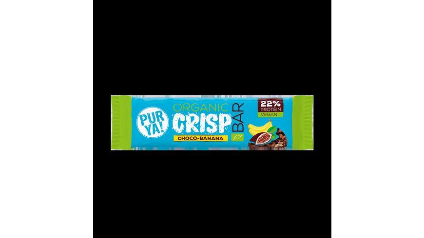 PURYA Protein Crisp Bar Choco Banana