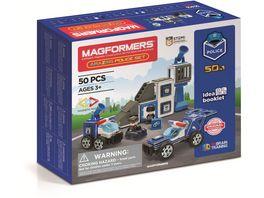 Magformers 278 55 Amacing Police Set 50 Teile