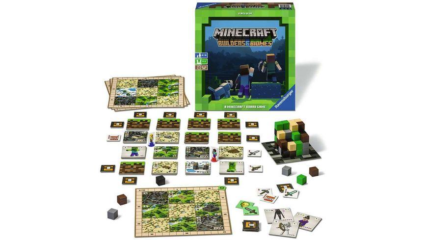Ravensburger Spiel Minecraft Builders Biomes