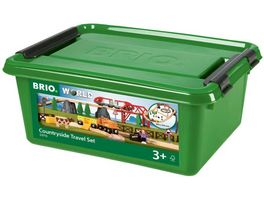 BRIO Bahn Country Reisezug Set