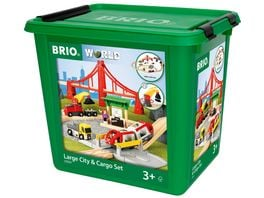 BRIO Bahn Grosses City Frachten Set