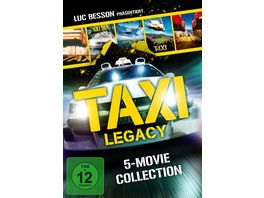 Taxi Legacy 5 Movie Collection 5 DVDs