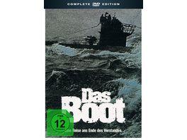 Das Boot Complete Edition Original Soundtrack Hoerbuch zum Roman Bonus DVD 5 DVDs