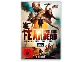 Fear The Walking Dead Staffel 5 Uncut 4 DVDs Bonus DVD